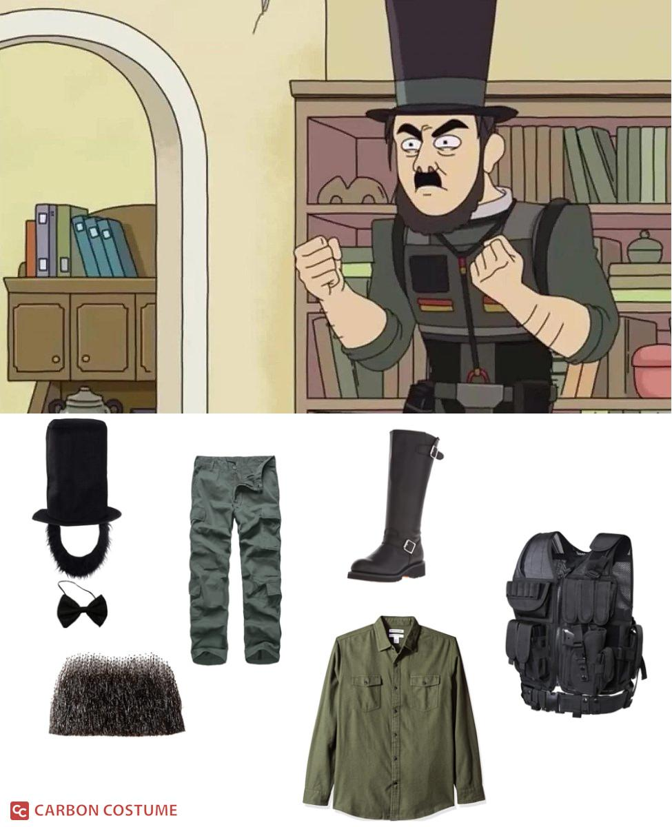 Abradolf Lincler from Rick and Morty Cosplay Guide