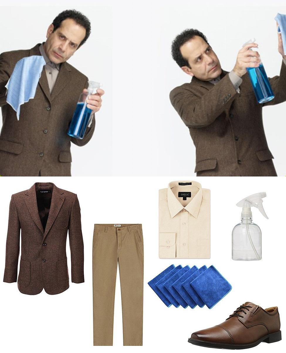 Adrian Monk Cosplay Guide