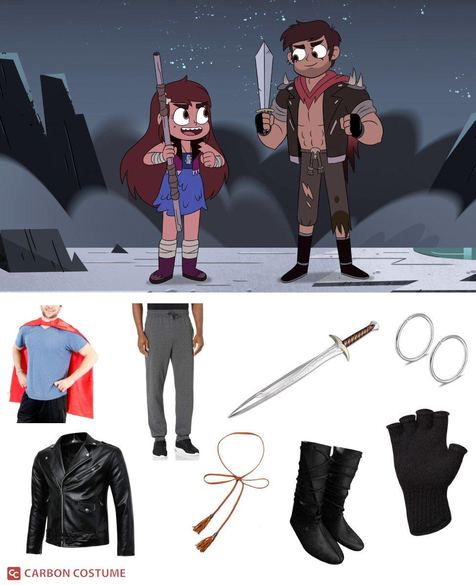 Adult Marco Diaz from Star vs. the Forces of Evil Cosplay Guide