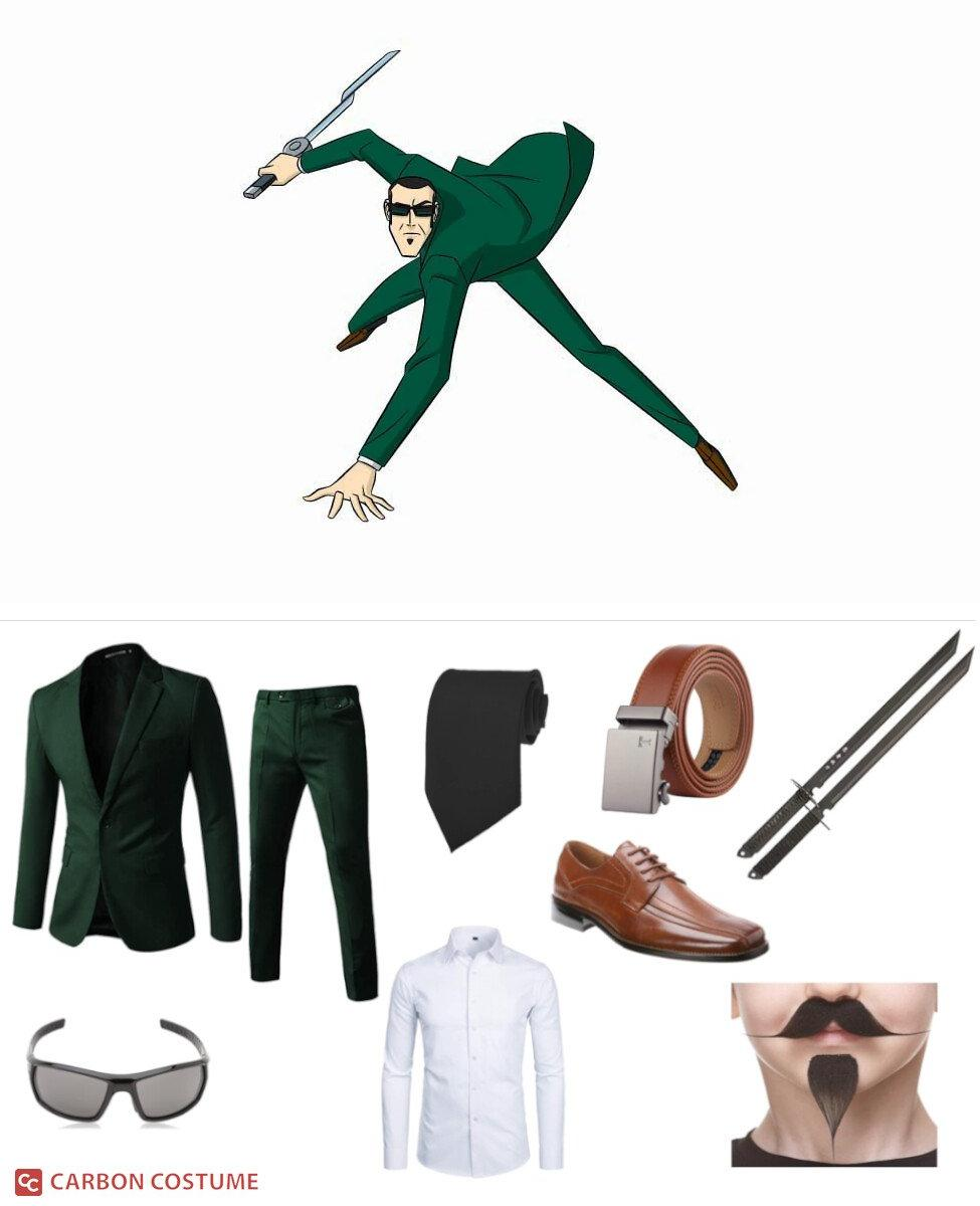 Agent Six from Generator Rex Cosplay Guide