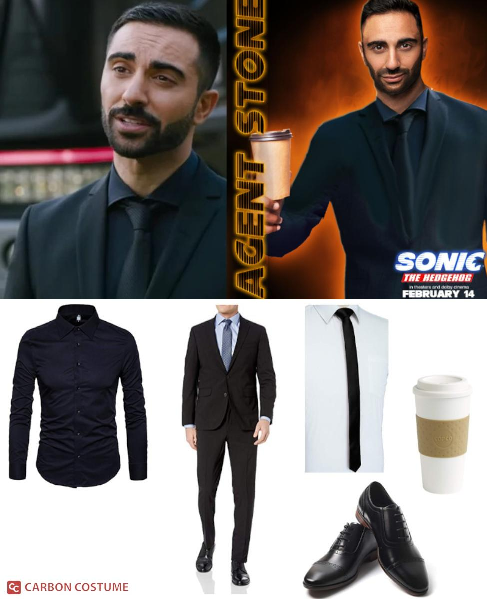Agent Stone from Sonic the Hedgehog (2020) Cosplay Guide