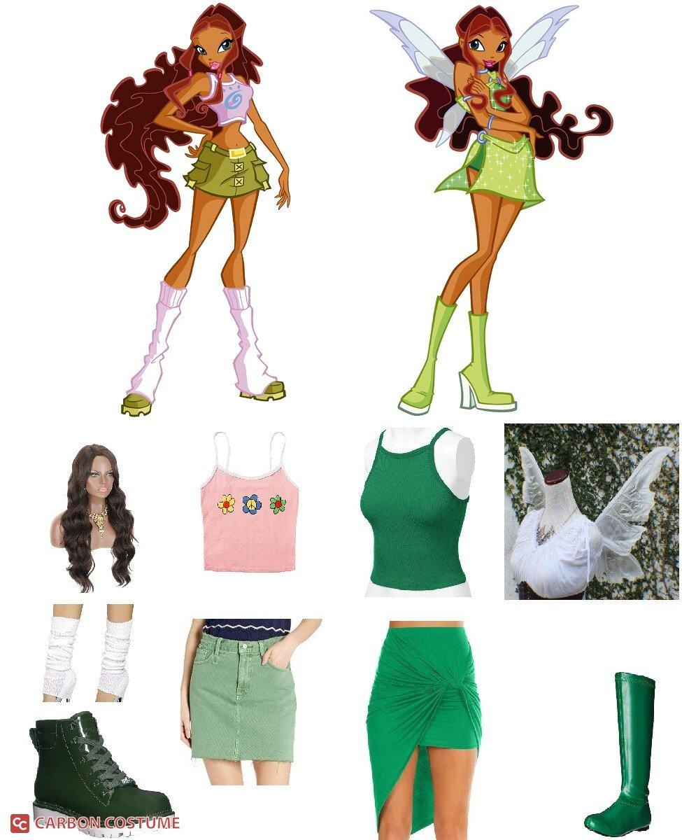 Aisha from Winx Club Cosplay Guide