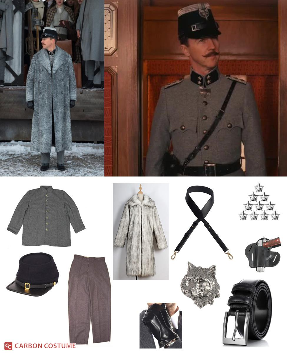 Albert Henckels from The Grand Budapest Hotel Cosplay Guide
