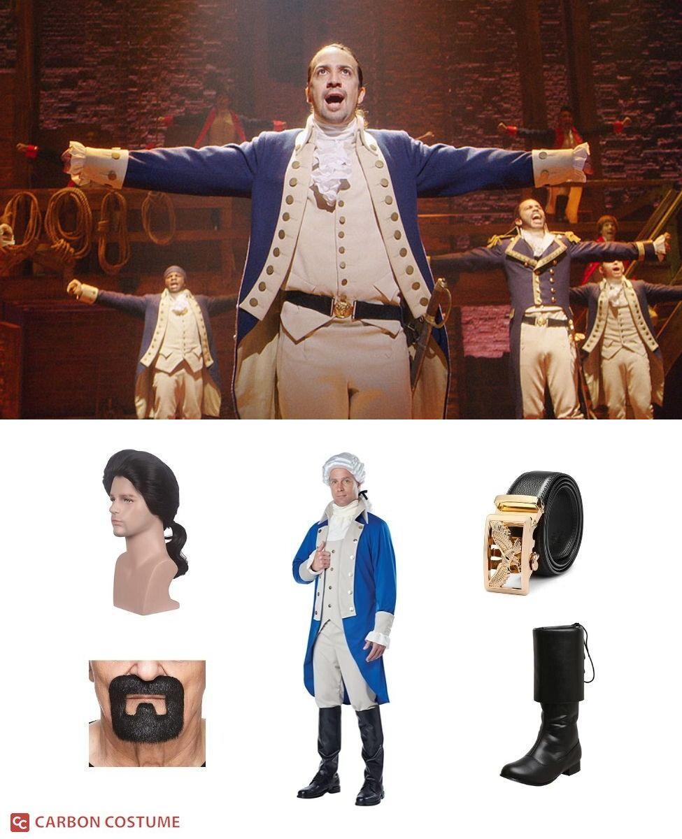 Alexander Hamilton from Hamilton Cosplay Guide