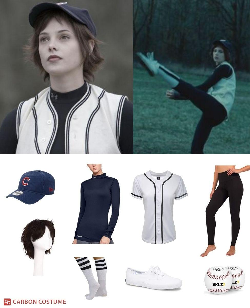 Alice Cullen in the Baseball Scene from Twilight Cosplay Guide