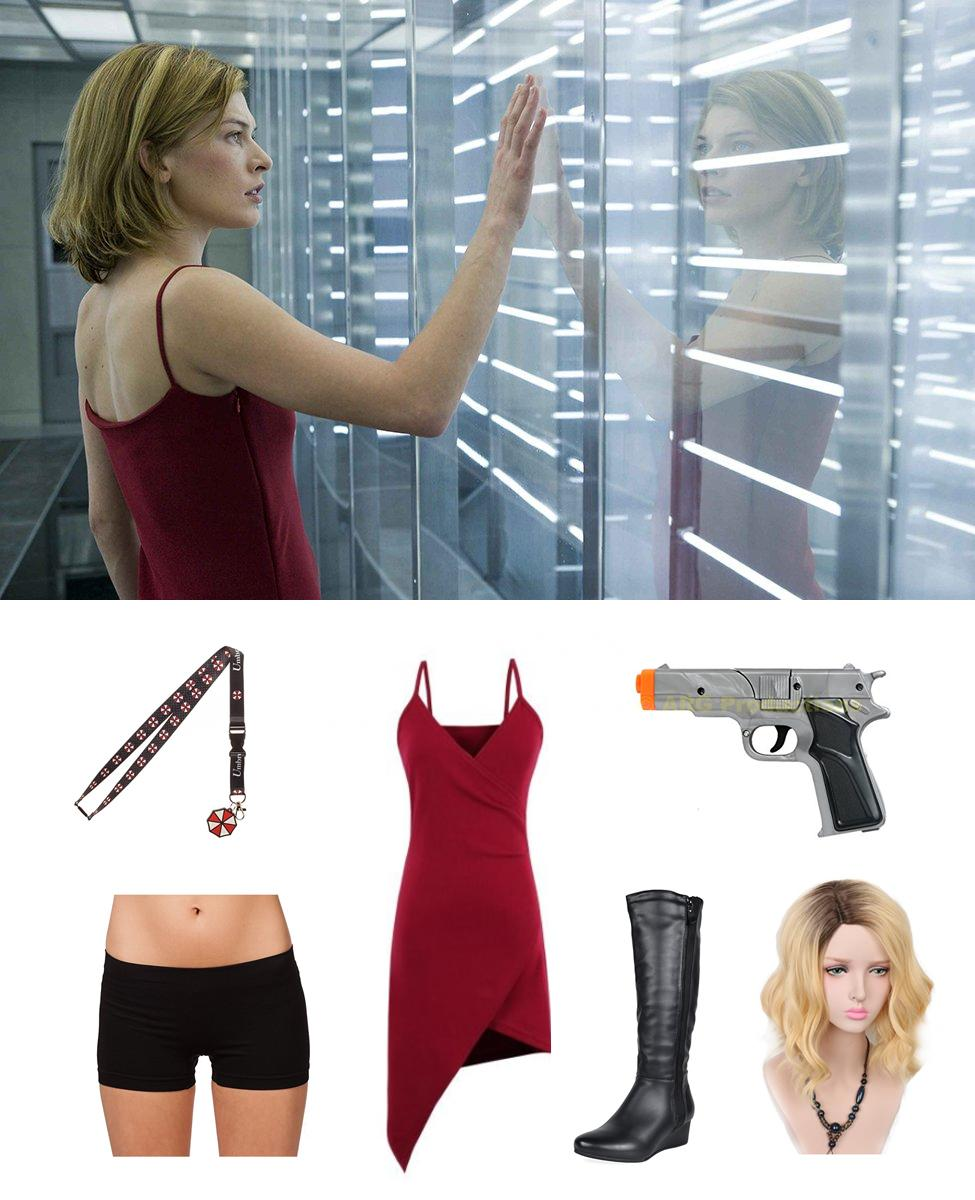 Alice from Resident Evil Cosplay Guide