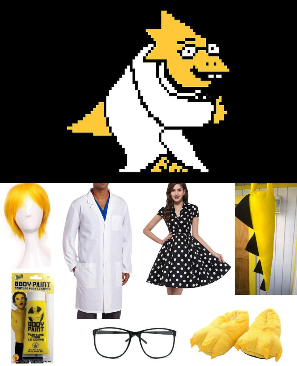 Alphys Cosplay Guide
