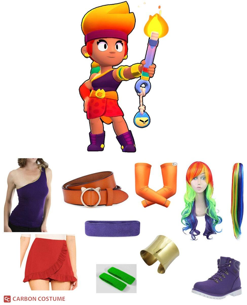 Amber from Brawl Stars Cosplay Guide