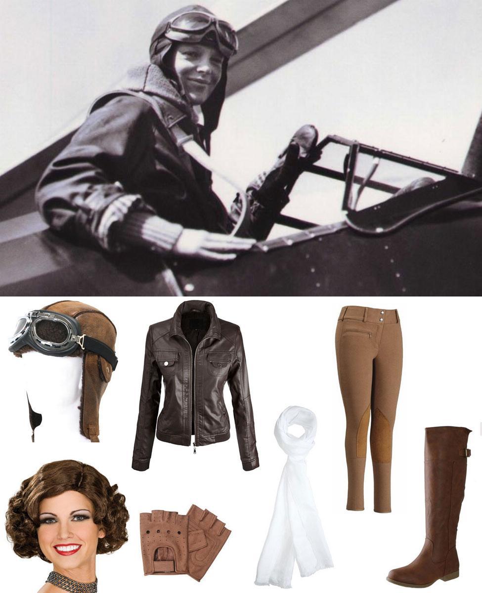 Amelia Earhart Cosplay Guide