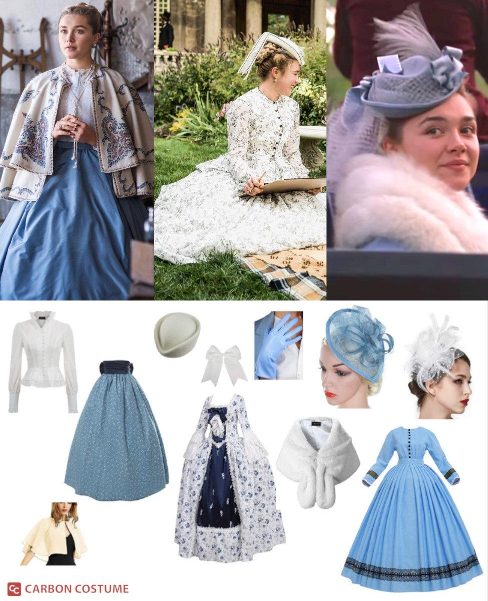 Amy March from Little Women Cosplay Guide