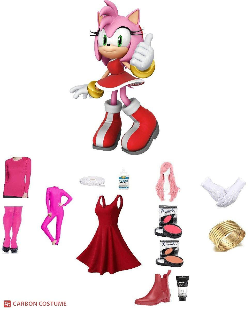 Amy Rose from Sonic the Hedgehog Cosplay Guide