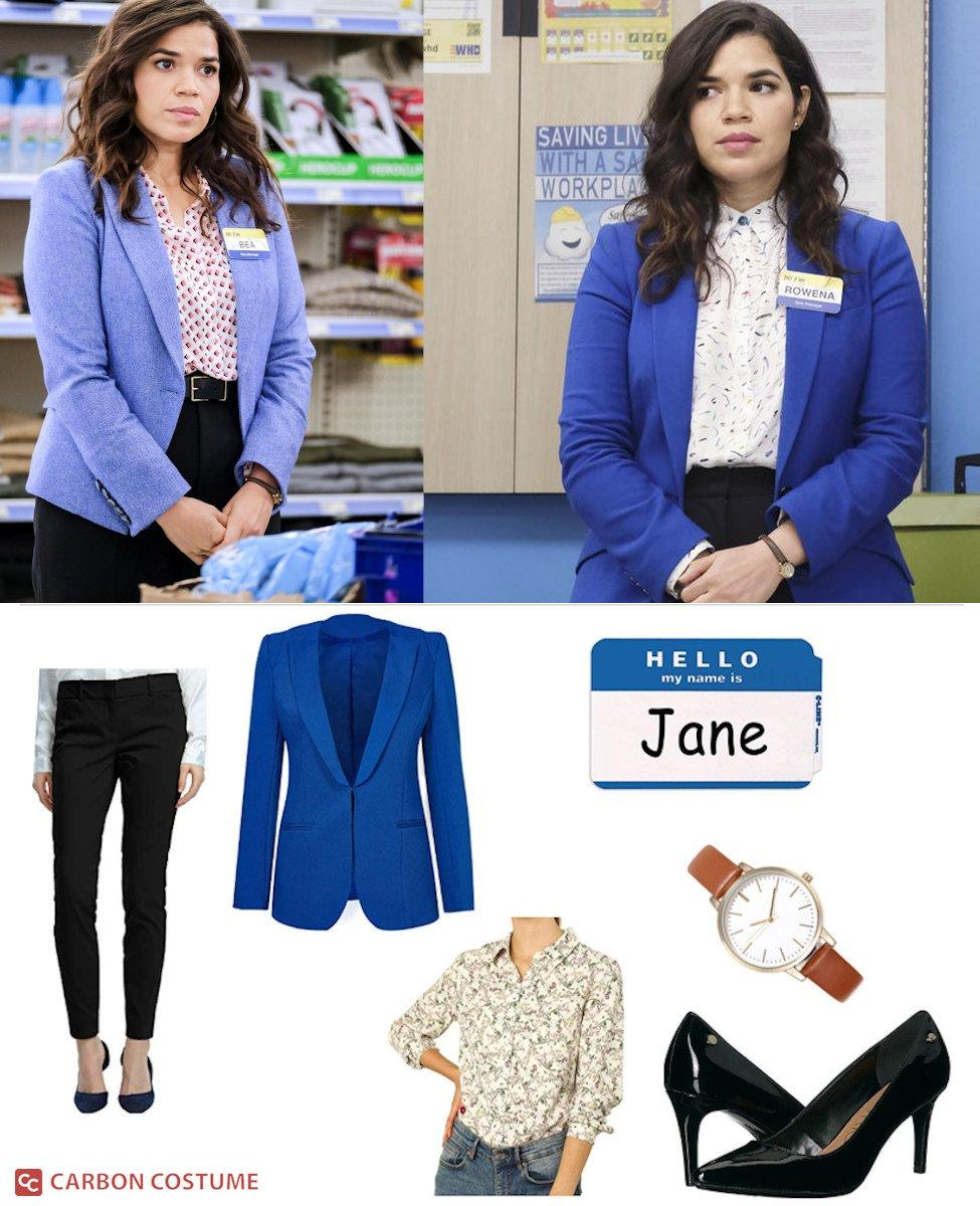 Amy Sosa from Superstore Cosplay Guide