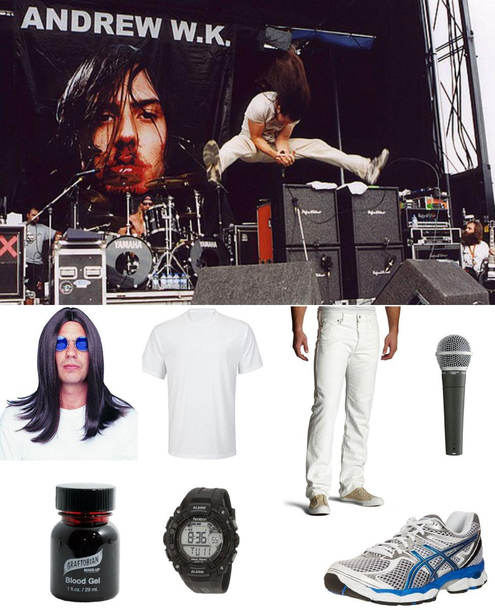 Andrew WK Cosplay Guide