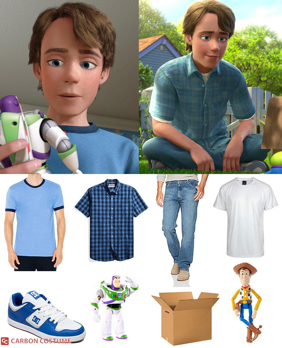 Andy from Toy Story 3 Cosplay Guide