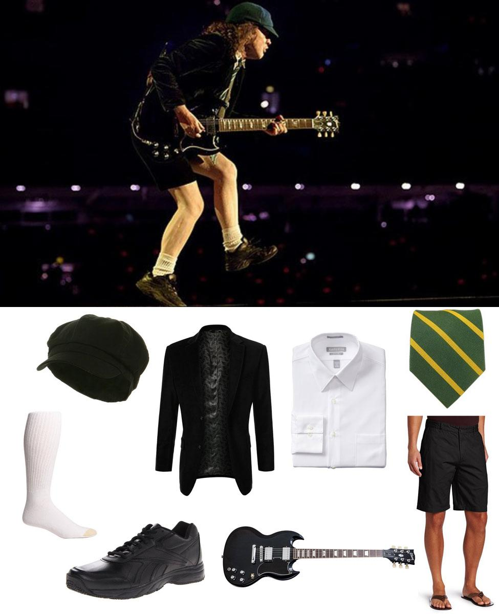 Angus Young Cosplay Guide