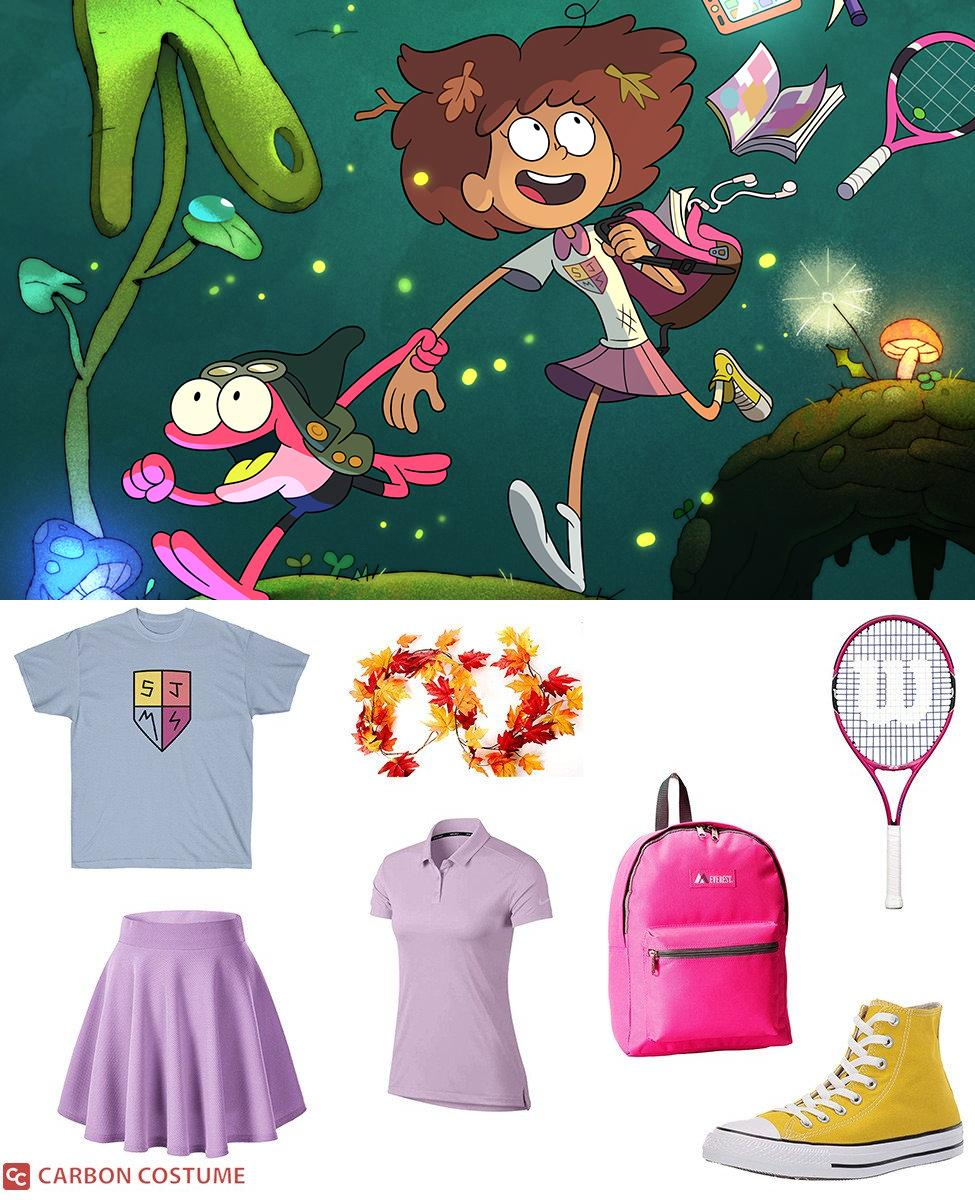 Anne Boonchuy from Amphibia Cosplay Guide