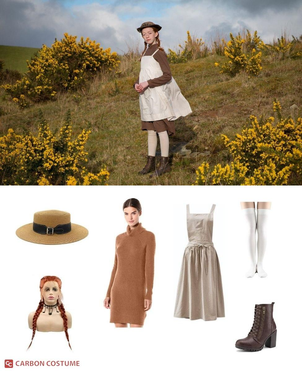 Anne Shirley Cuthbert from Anne with an E Cosplay Guide