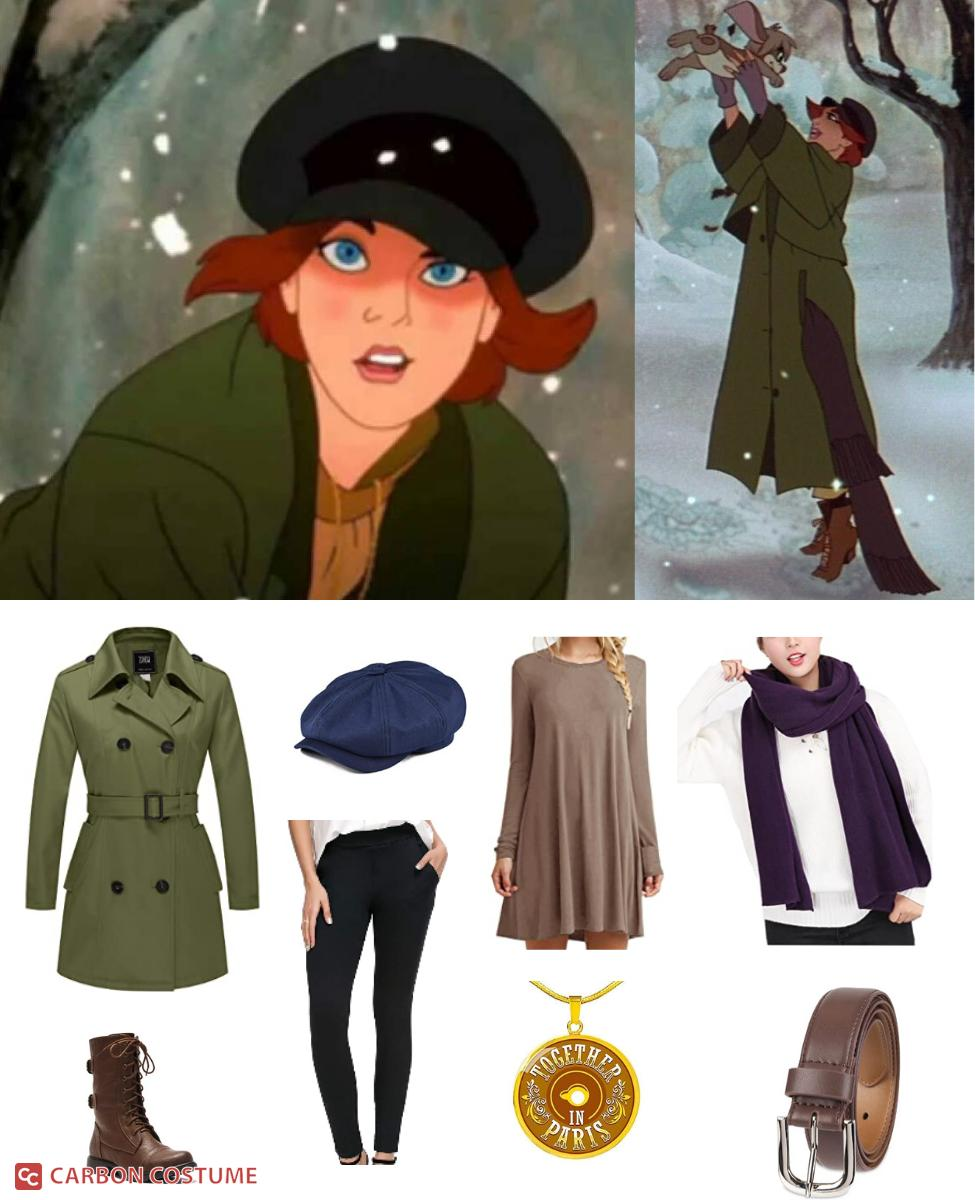 Anya from Anastasia Cosplay Guide