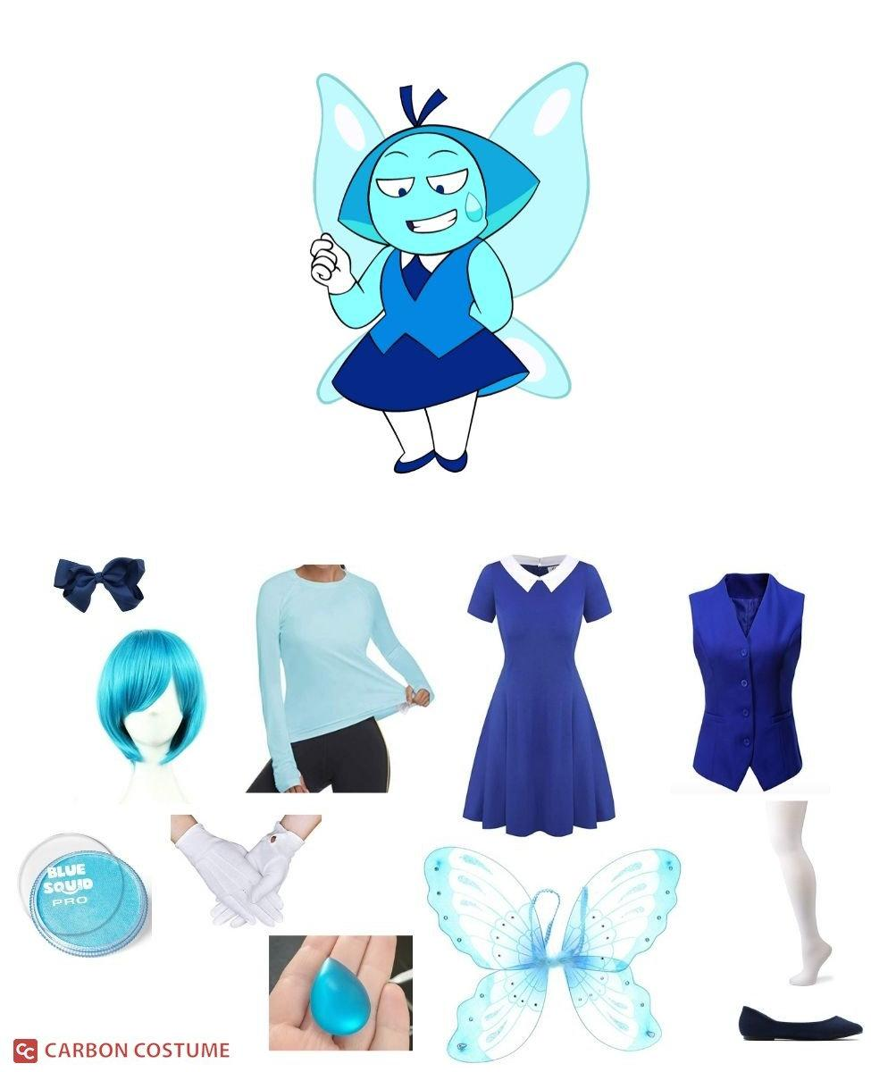 Aquamarine from Steven Universe Cosplay Guide