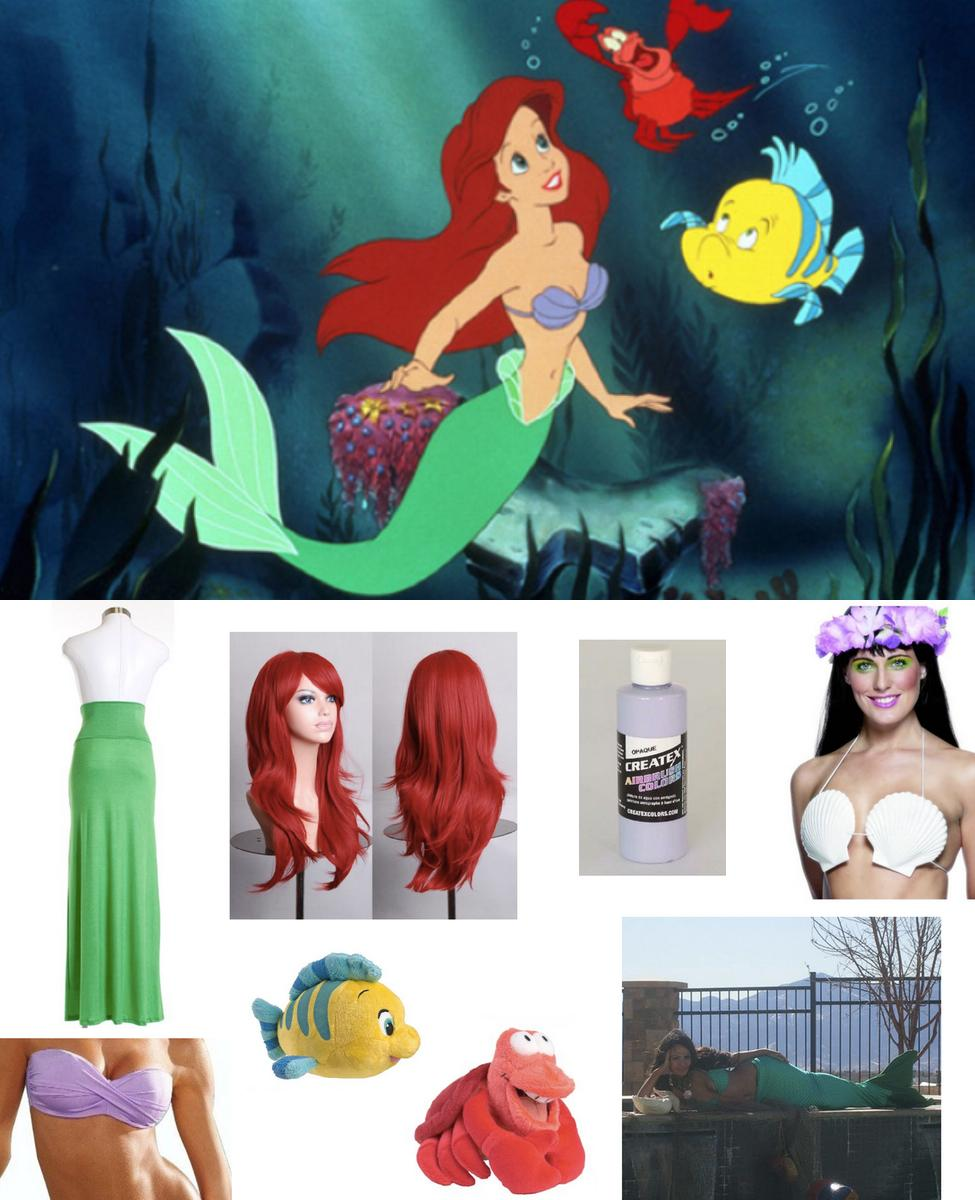 Ariel The Little Mermaid Cosplay Guide