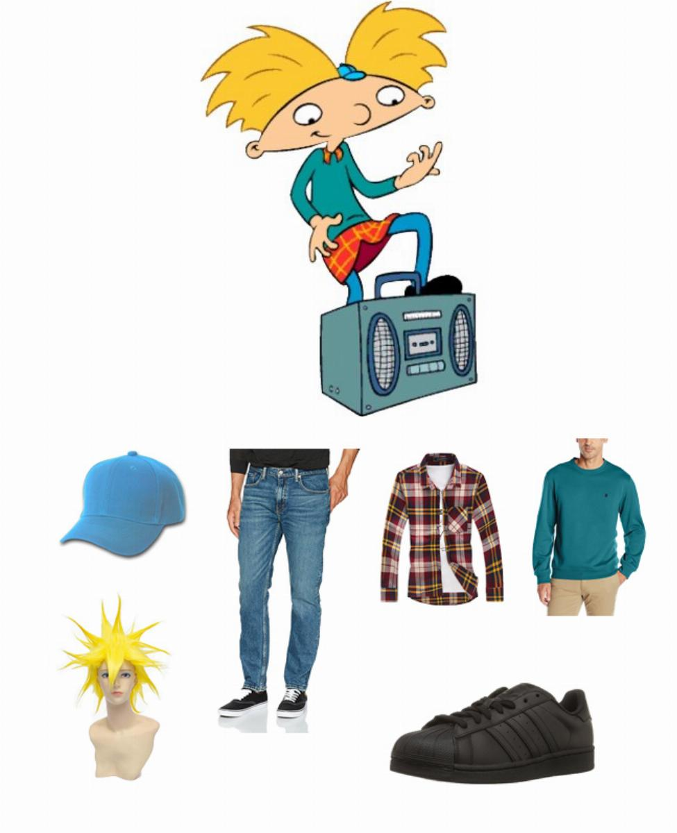 Arnold Shortman in Hey Arnold! Cosplay Guide