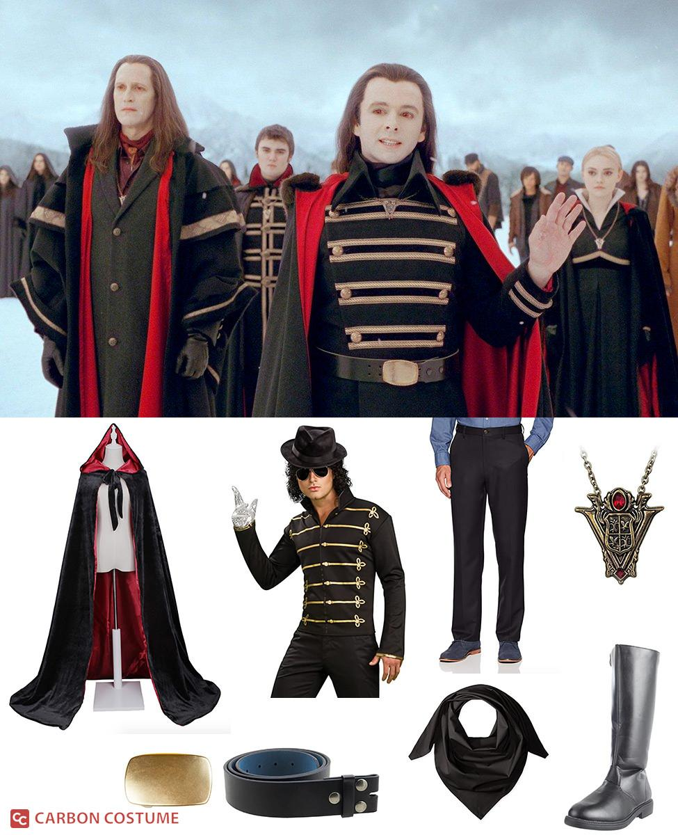 Aro from Twilight Cosplay Guide