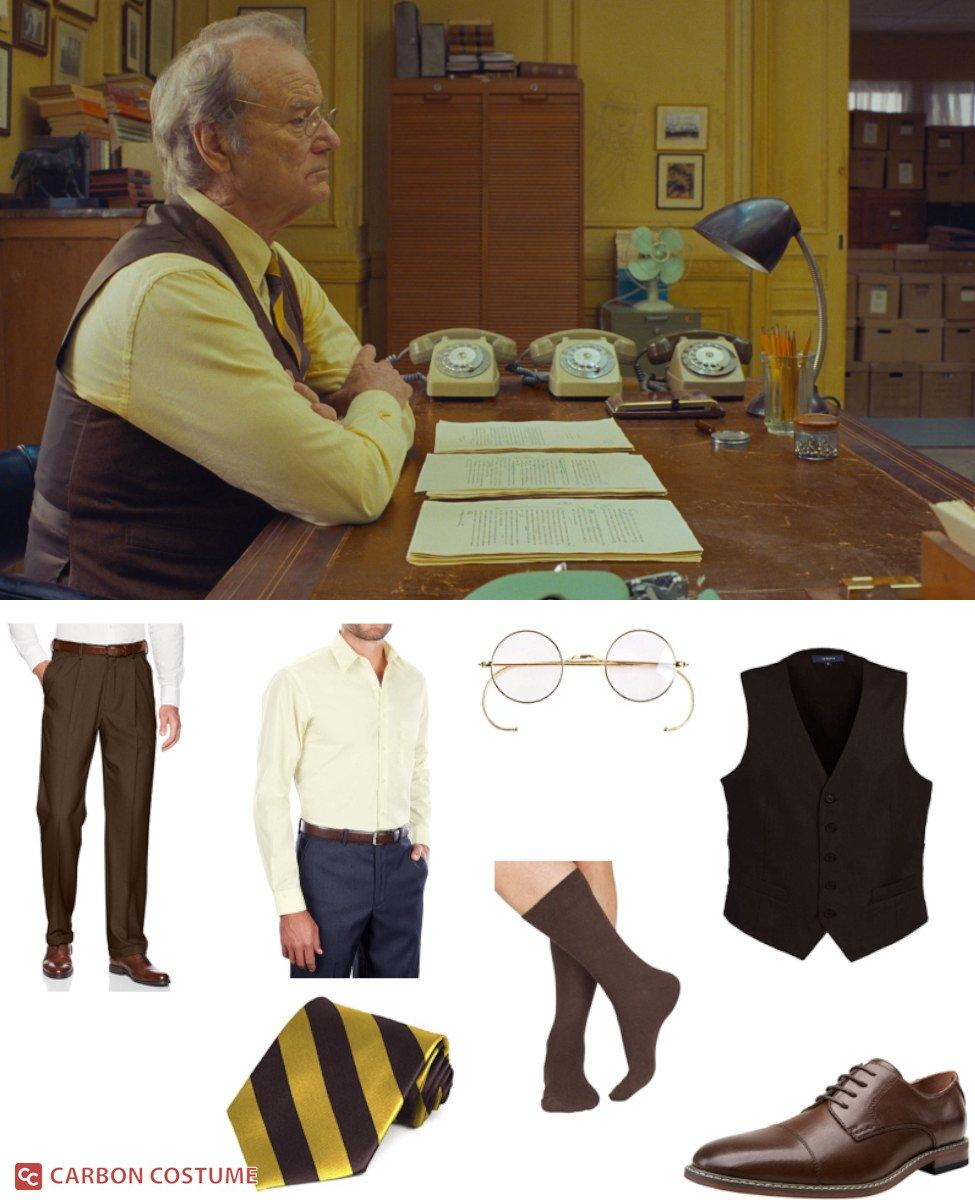 Arthur Howitzer, Jr. from The French Dispatch Cosplay Guide