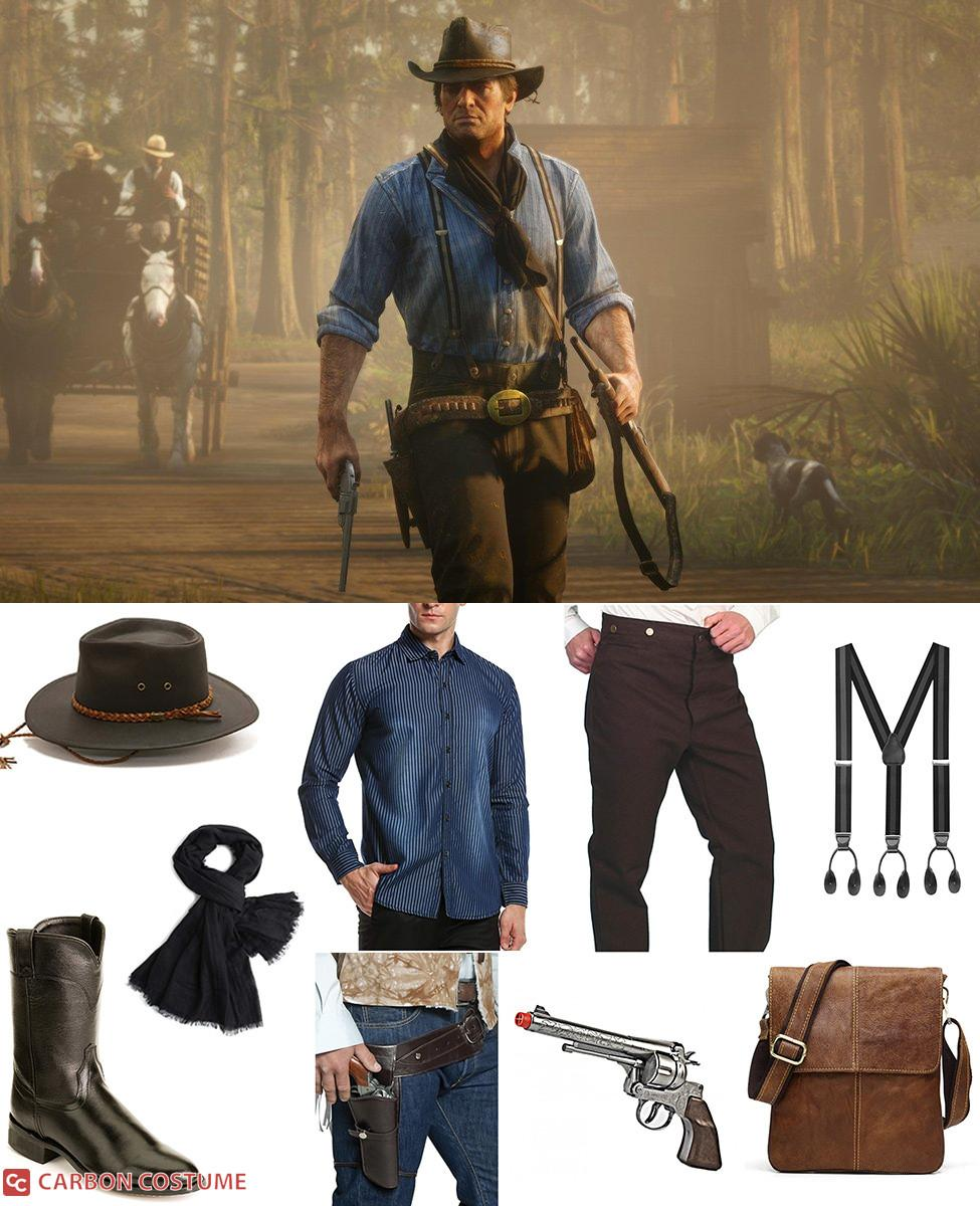 Arthur Morgan from Red Dead Redemption 2 Cosplay Guide