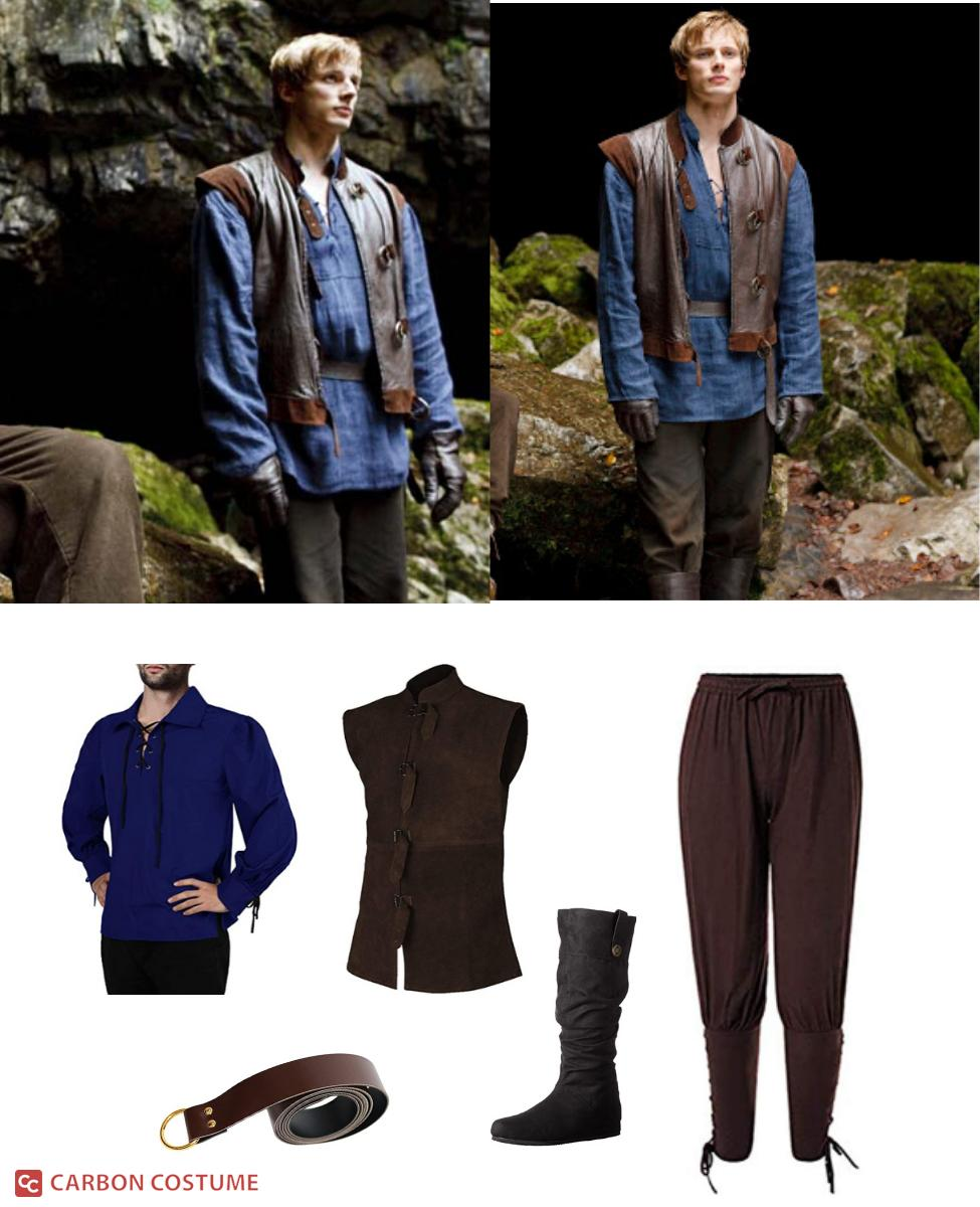 Arthur Pendragon from Merlin Cosplay Guide