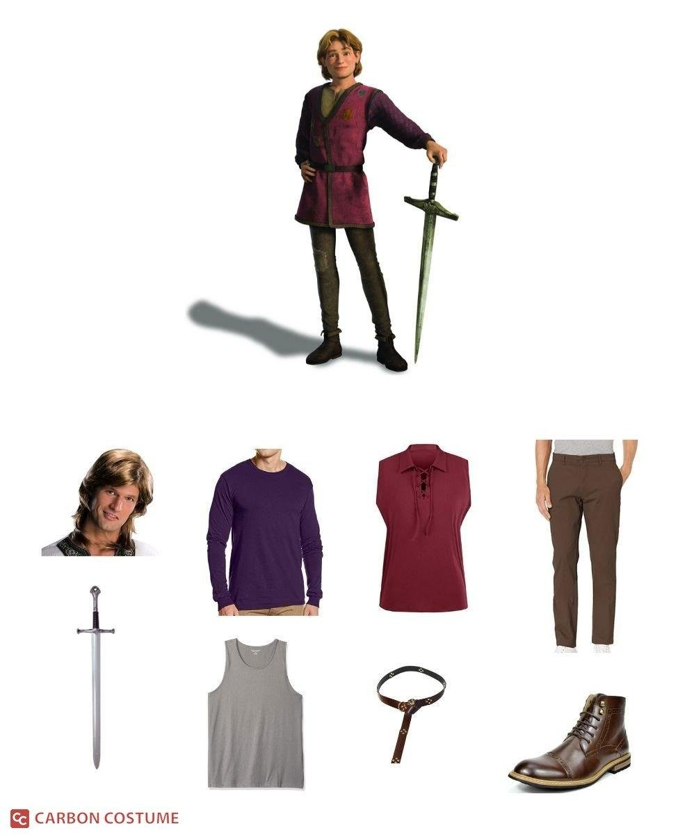 Arthur Pendragon from Shrek Cosplay Guide
