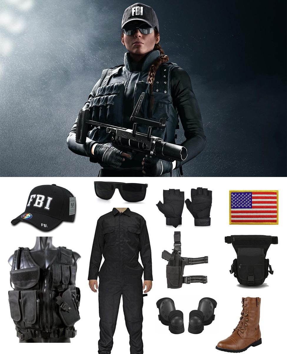 Ash From Rainbow Six Siege Cosplay Guide
