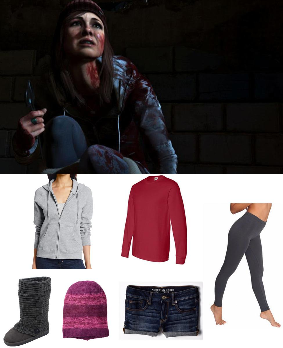 Ashley from Until Dawn Cosplay Guide