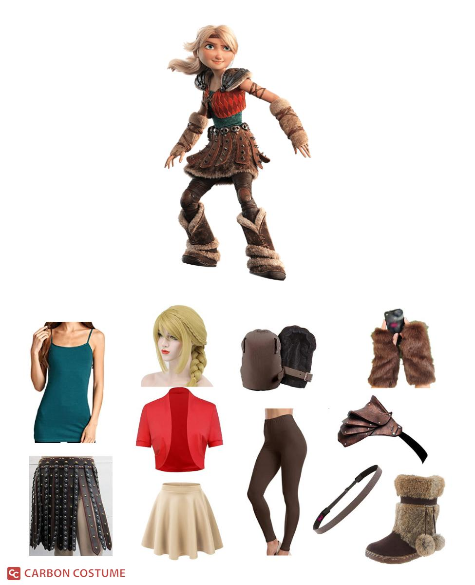 Astrid Hofferson from How to Train Your Dragon Cosplay Guide