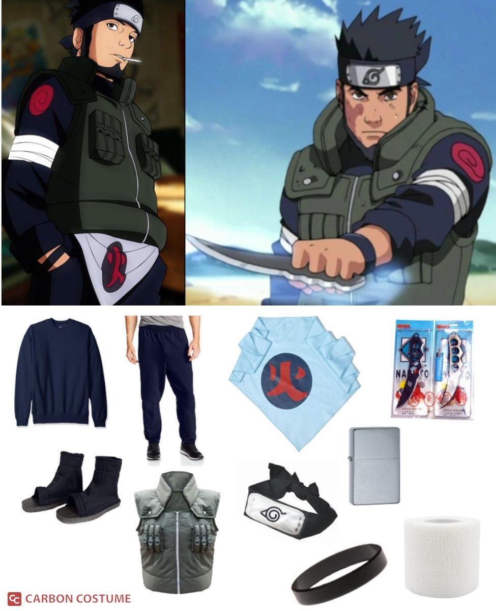 Asuma Sarutobi from Naruto Cosplay Guide