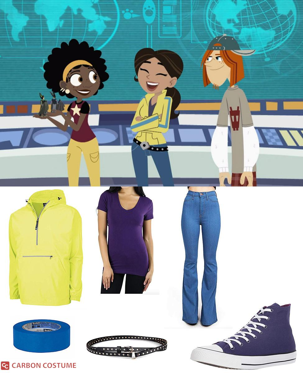Aviva Corcovado from Wild Kratts Cosplay Guide