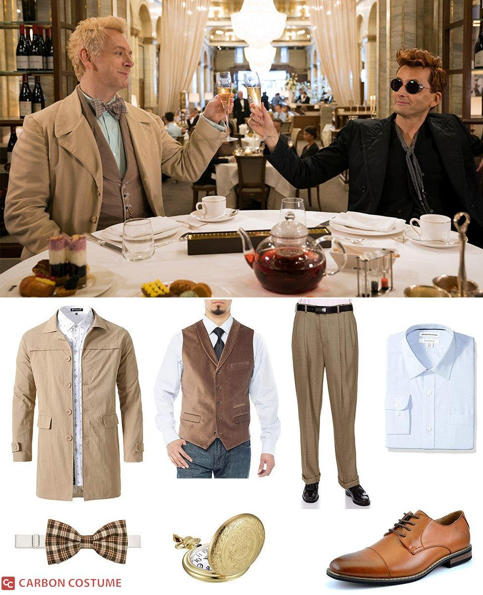 Aziraphale from Good Omens Cosplay Guide