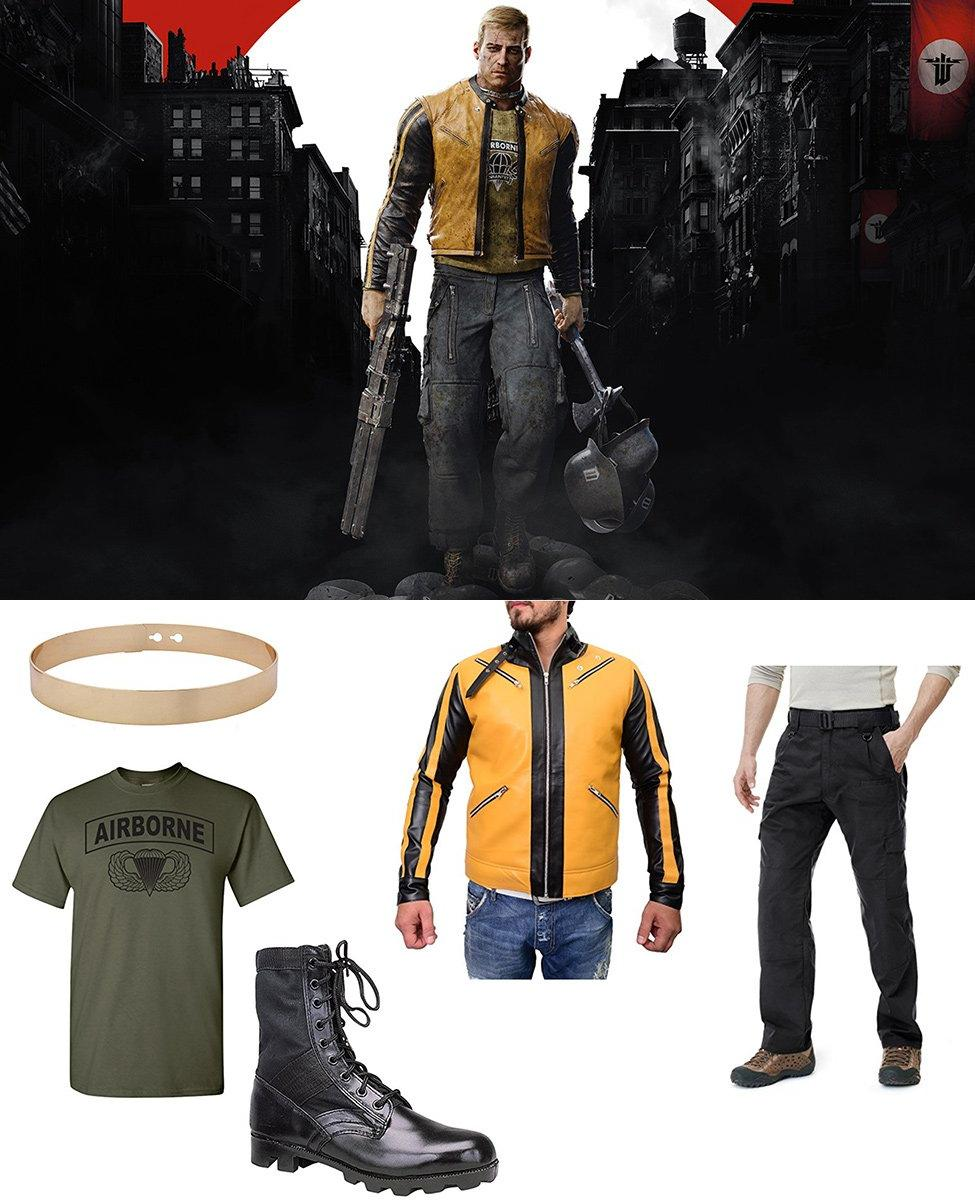 B.J. Blazkowicz from Wolfenstein II: The New Colossus Cosplay Guide