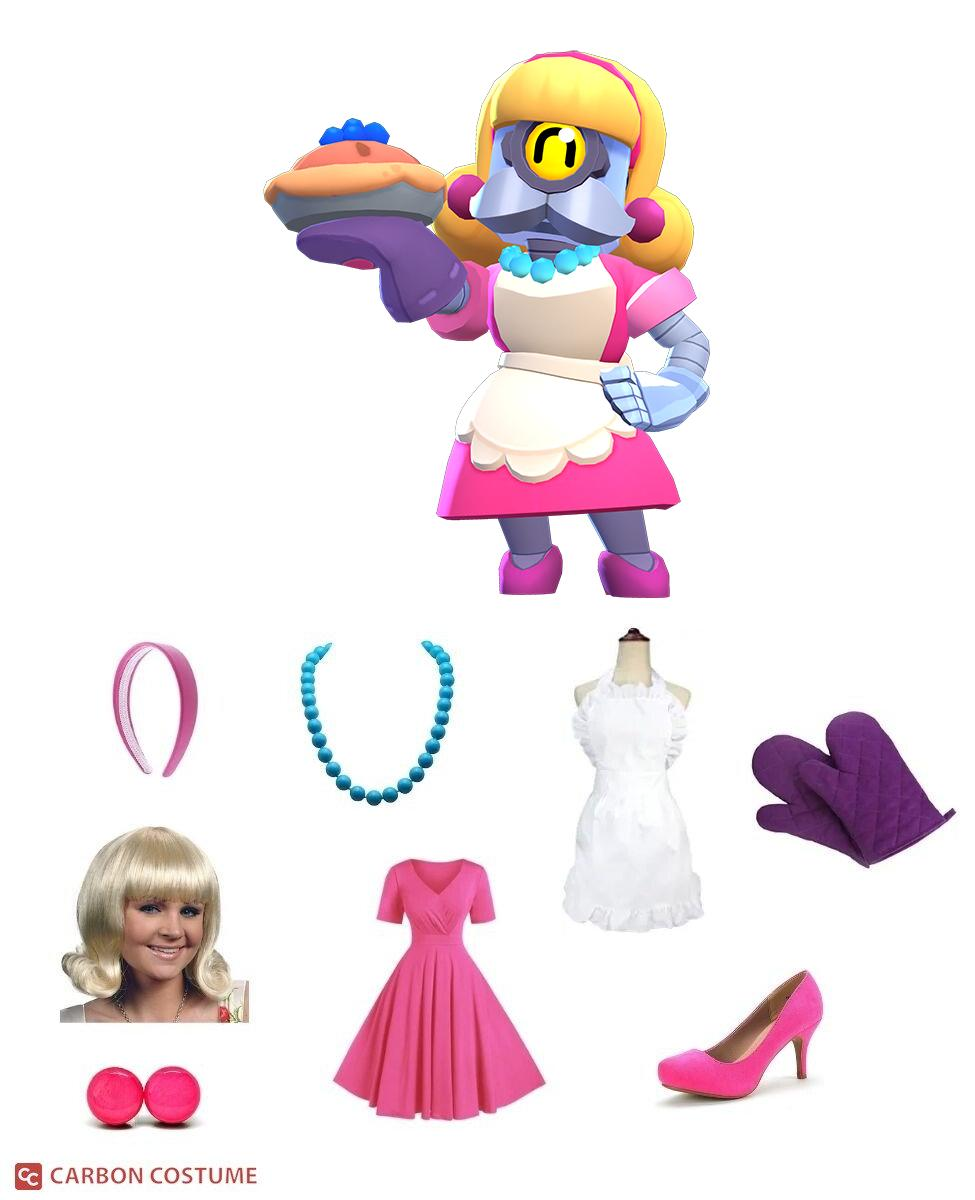Bakesale Barley from Brawl Stars Cosplay Guide
