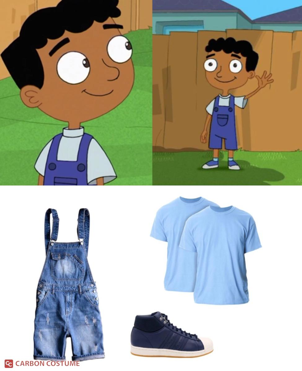 Baljeet from Phineas and Ferb Cosplay Guide