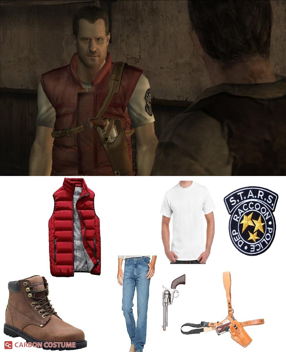 Barry Burton from Resident Evil Cosplay Guide