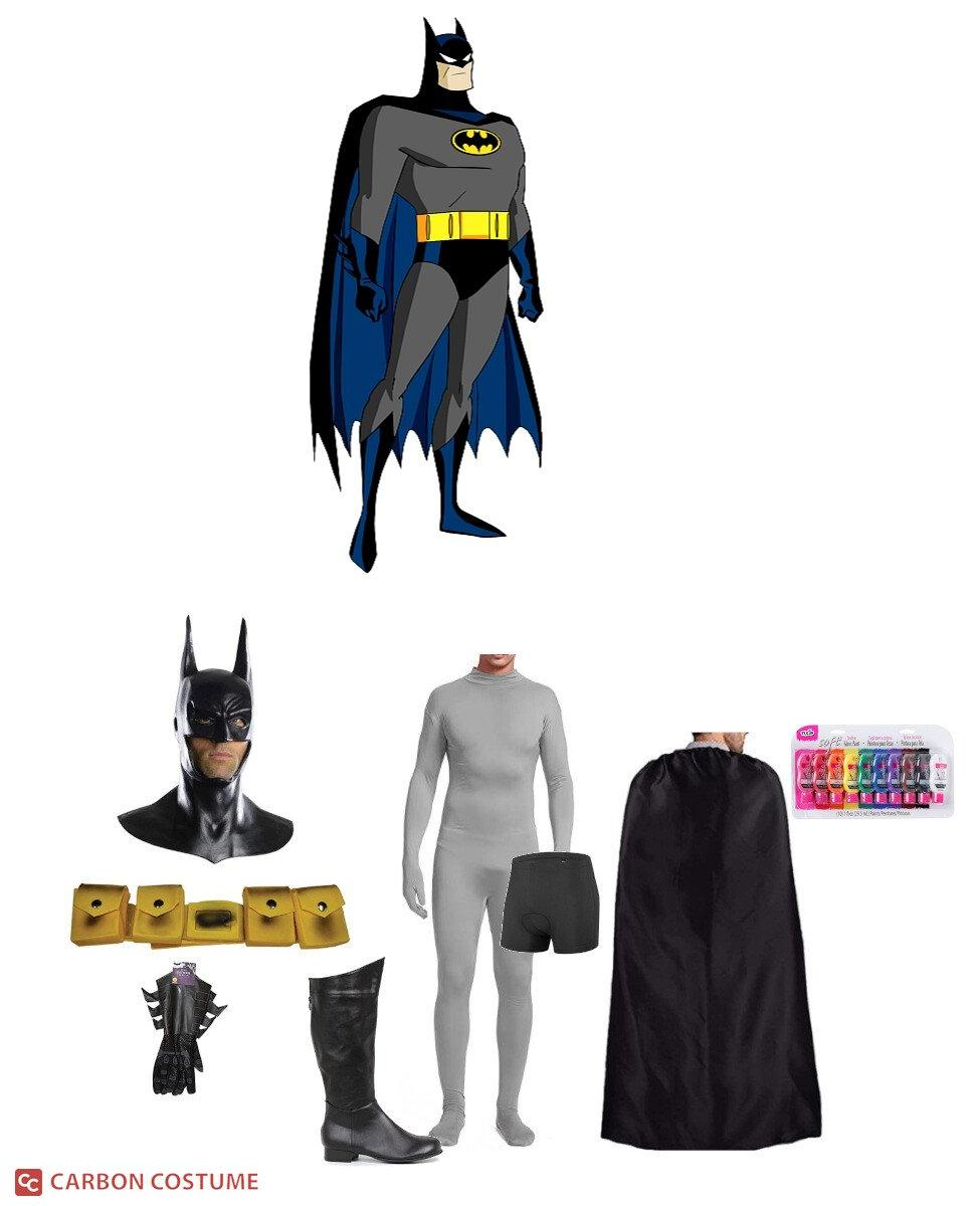 Batman from Batman: The Animated Series Cosplay Guide
