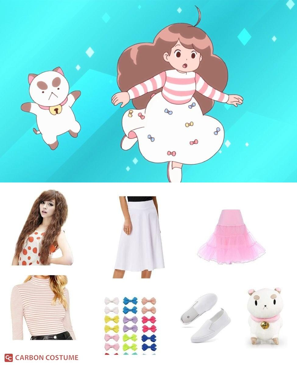 """Bee and PuppyCat from """"Lazy In Space"""" Cosplay Guide"""