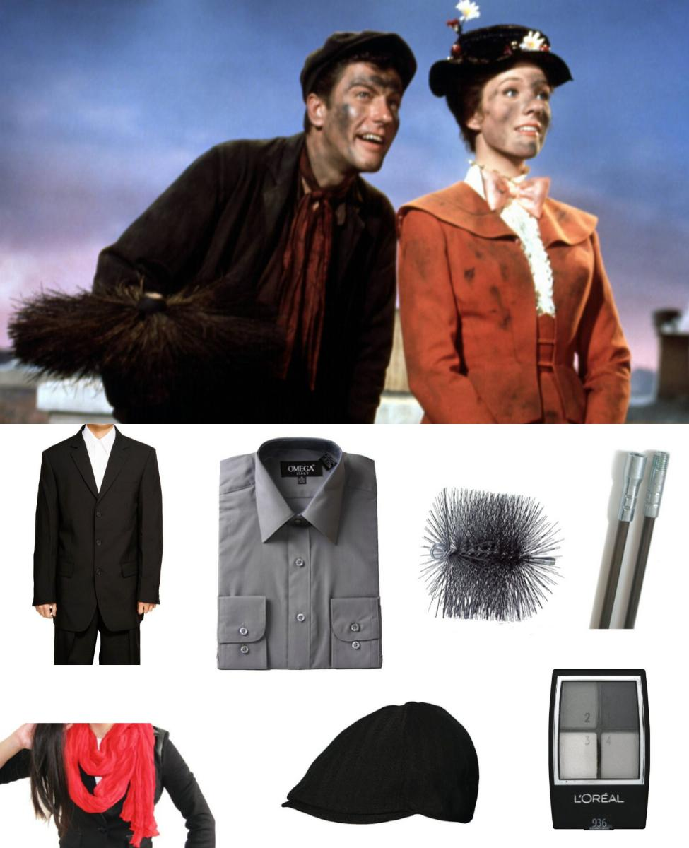 Bert from Mary Poppins Cosplay Guide