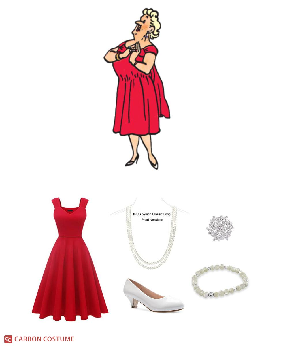 Bianca Castafiore from Tintin Cosplay Guide