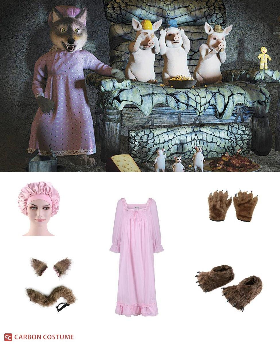 Big Bad Wolf from Shrek Cosplay Guide