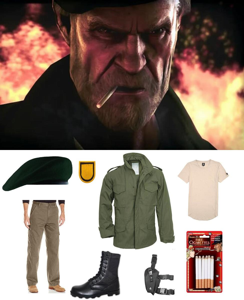 Bill from Left 4 Dead Cosplay Guide