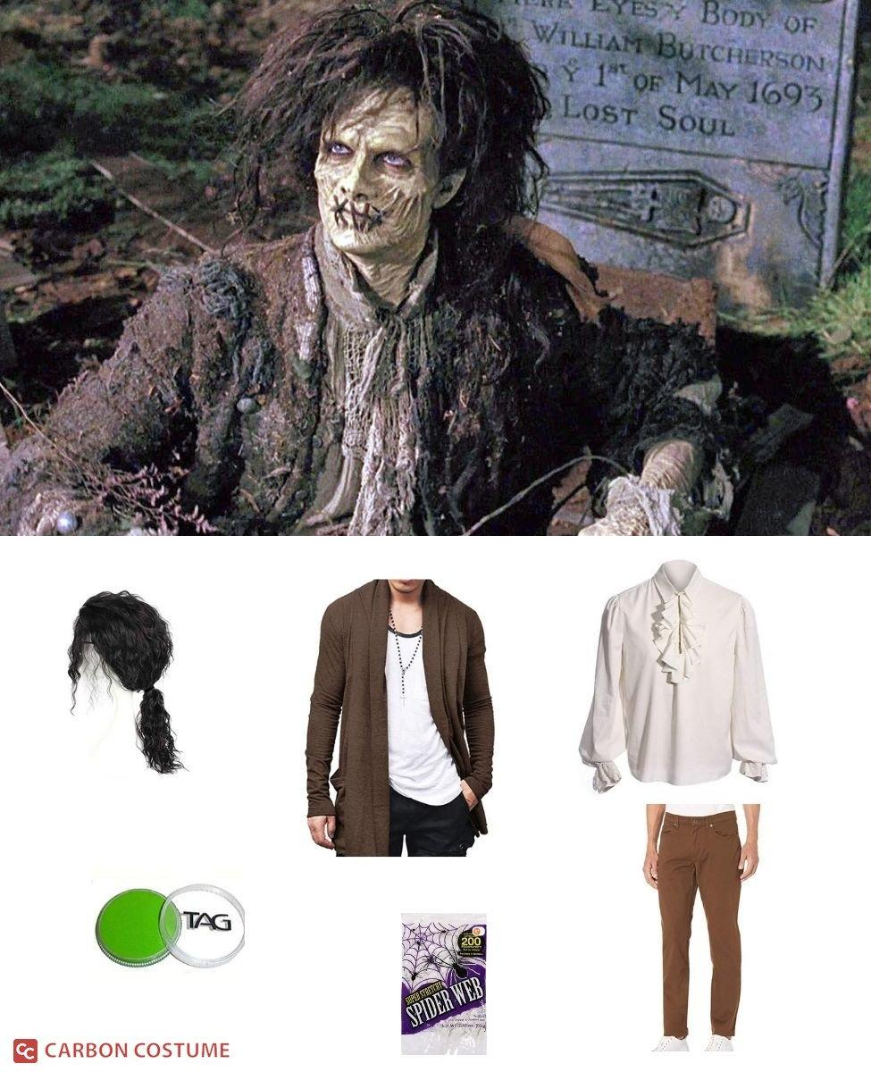Billy Butcherson from Hocus Pocus Cosplay Guide