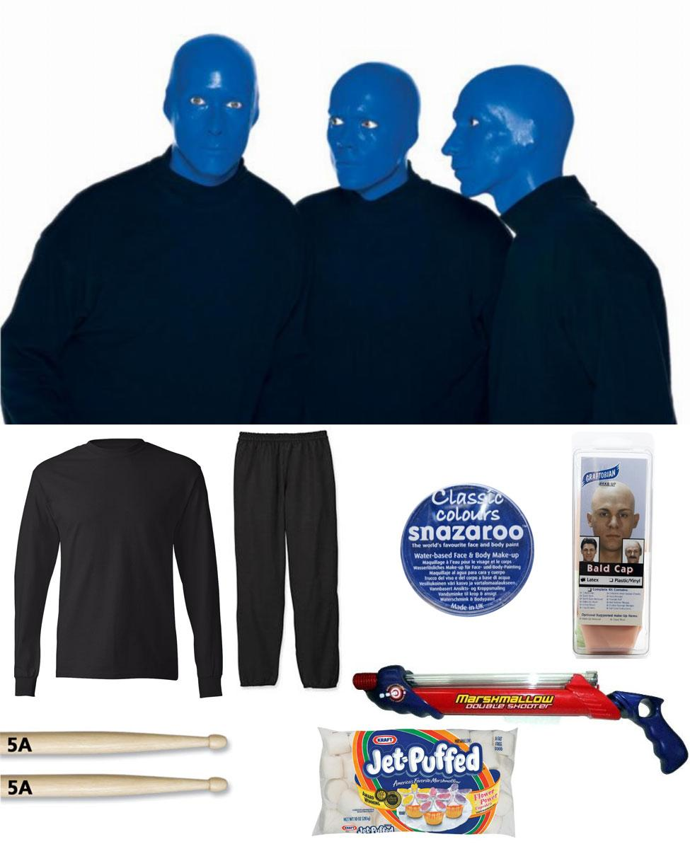 Blue Man Group Cosplay Guide
