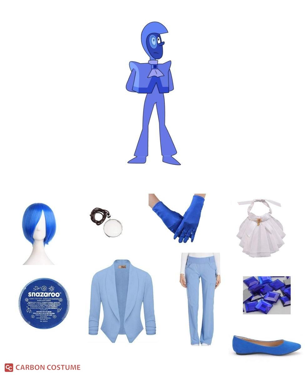 Blue Zircon from Steven Universe Cosplay Guide