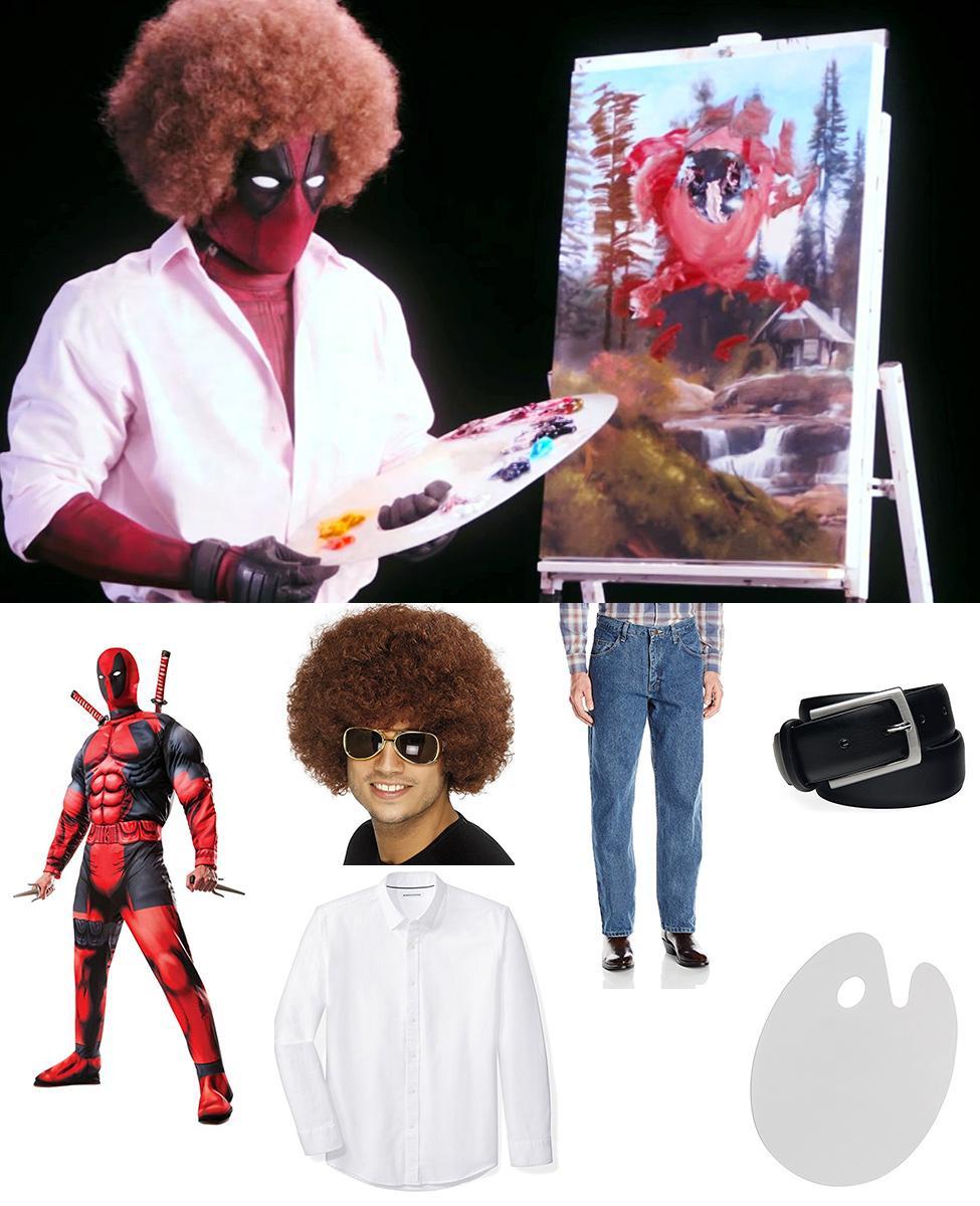 Bob Ross Deadpool Cosplay Guide